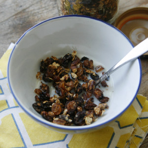 Double Raisin Granola