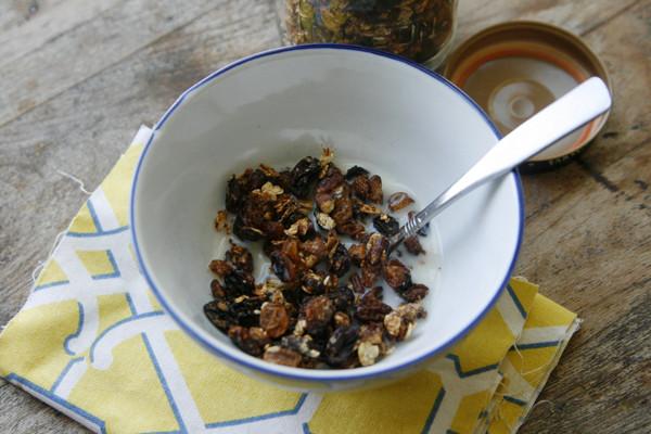 New on Raisin Your Nutrition: Easy Double Raisin Pecan Granola