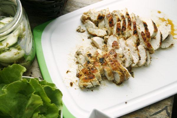 Garlic Dill Chicken