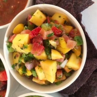Mango Strawberry Salsa