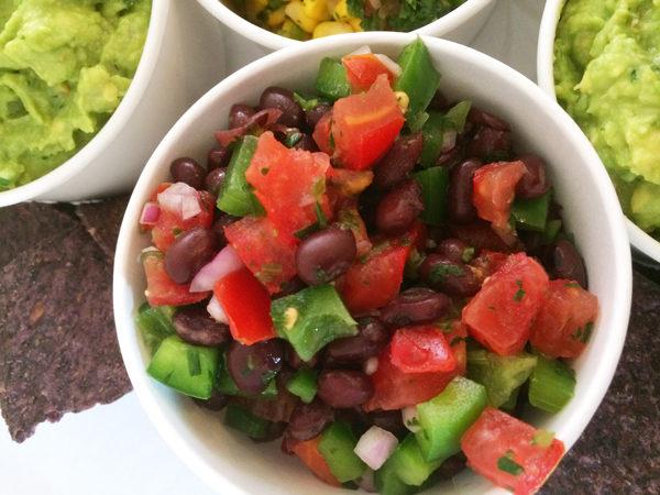 Mild Black Bean Salsa Recipe