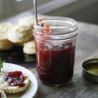 Small-Batch Strawberry Rhubarb Jam