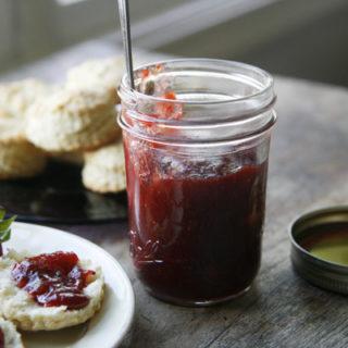 Small-Batch Strawberry Rhubarb Jam