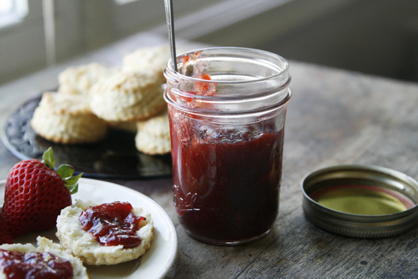 New on Maine Course: Small Batch Strawberry Rhubarb Jam