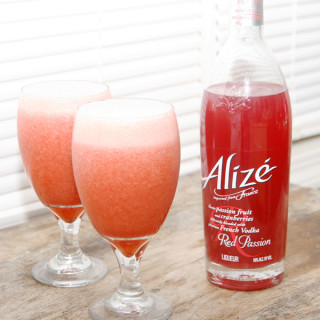 Spiked Strawberry Passion Limeade recipe