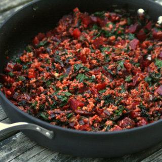 Beet Fried Rice recipe