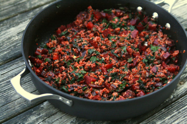 Beet Fried Rice recipe