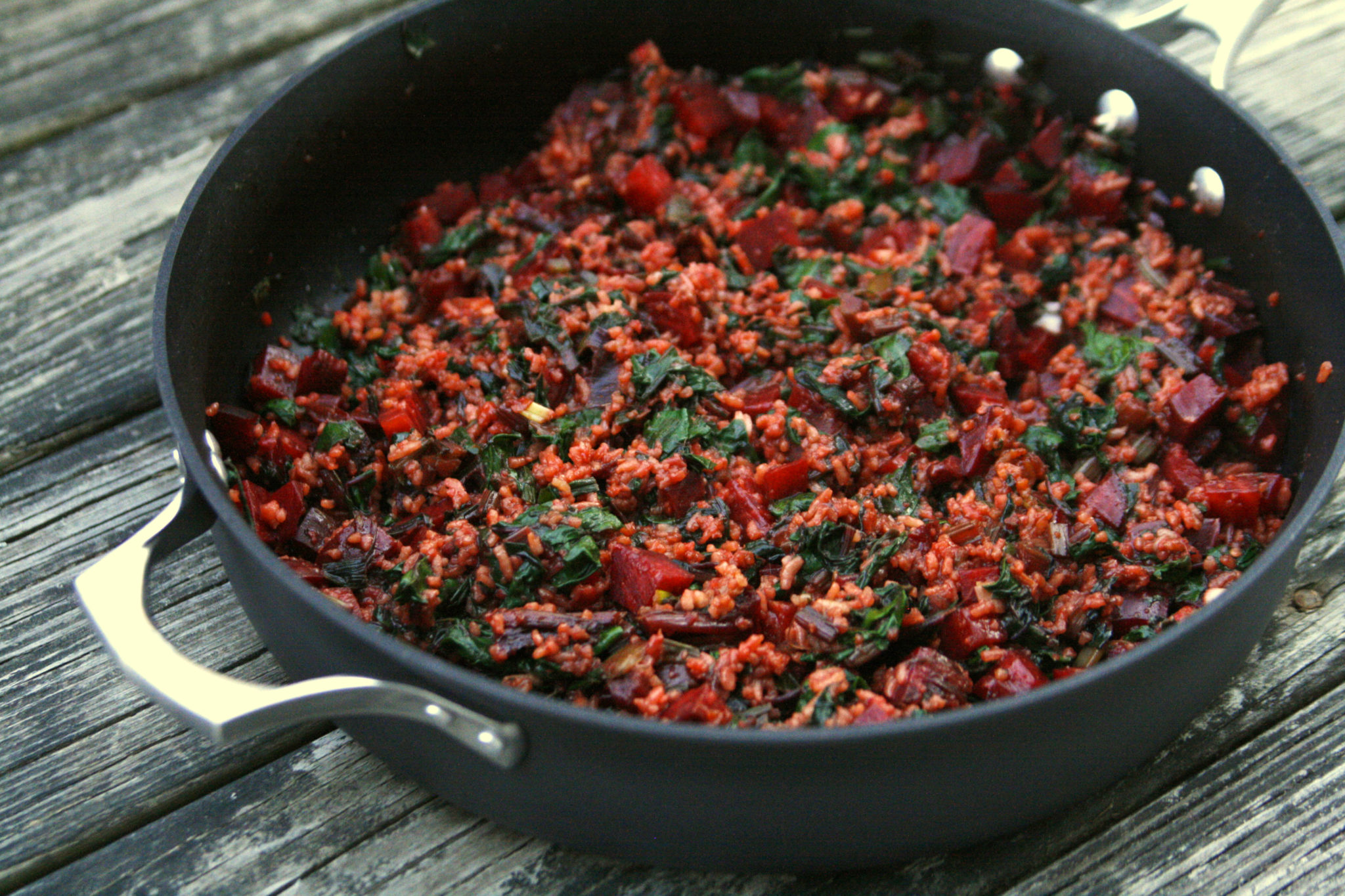 Bangor Daily News >> New on Maine Course: Beet Fried Rice - Sarah's Cucina Bella