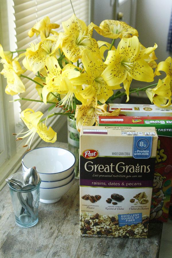 Cereals aren't just for milk