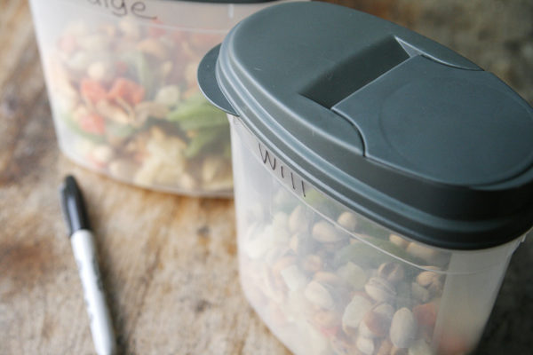 How to Store Make Your Own Trail Mix
