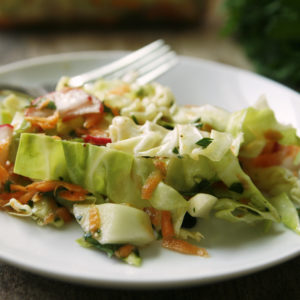 Oil and Vinegar Slaw Recipe