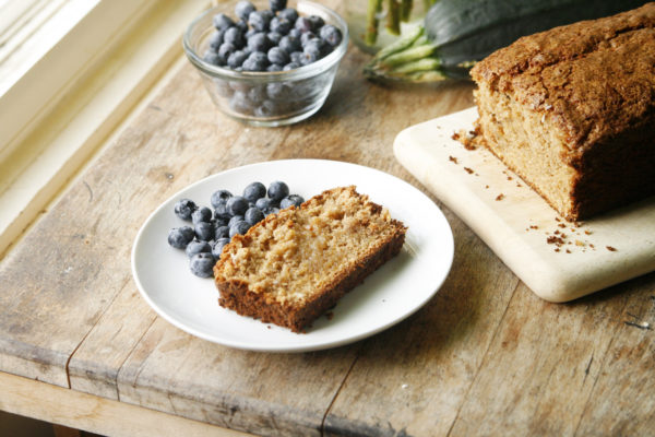 New on Maine Course: Cinnamon Zucchini Bread