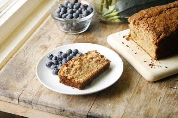 New on Maine Course: Cinnamon Zucchini Bread