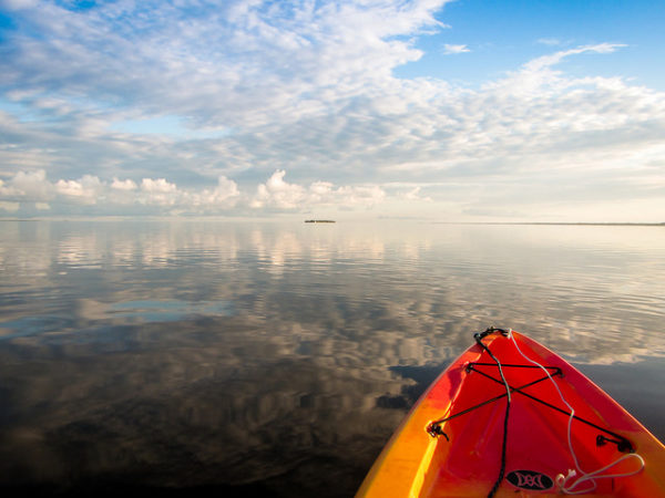 Kayaking on St. Joseph Bay is a Fun Activity for a Trip to Gulf County, Florida.