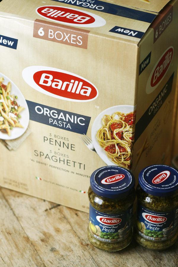 Barilla Pesto and Barilla Organic Pasta