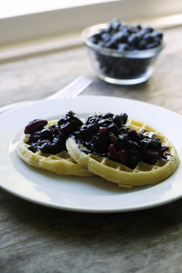 Blueberry Nut Sauce Recipe