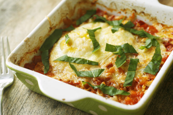 Recipe Tomato and Shallot Baked Egg