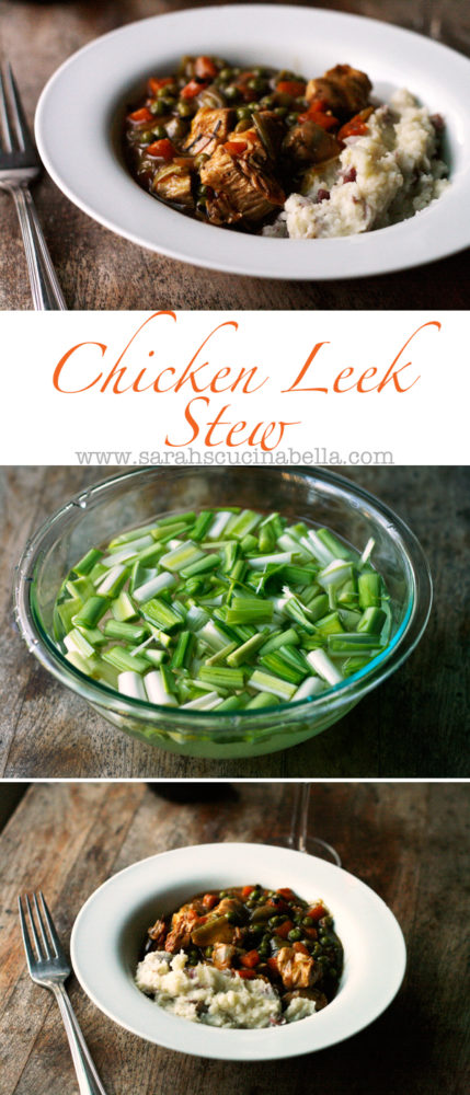 A Chicken Leek Stew recipe for those who love to cook