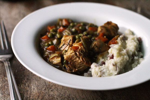 Recipe for Chicken Leek Stew