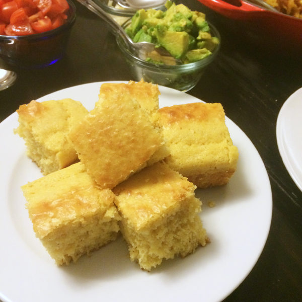 Easy Brown Sugar Cornbread