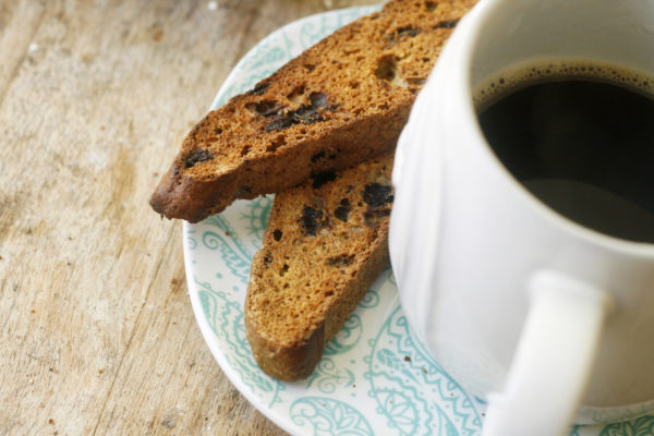 New on Maine Course: Wild Blueberry Biscotti