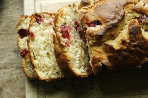 New on Maine Course: Cranberry Quick Bread