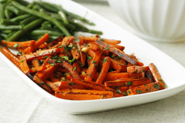 New on Maine Course: Garlic Parsley Carrots