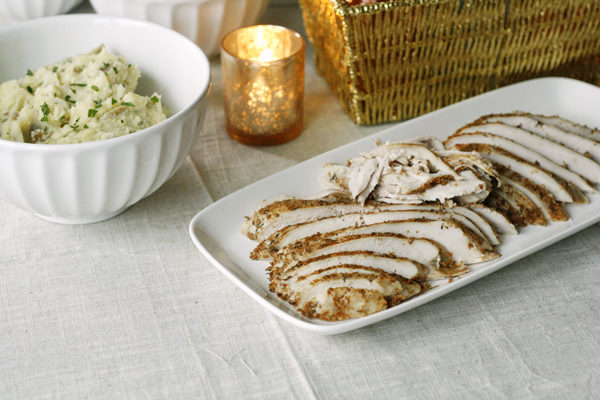 Lemon Garlic Slow Cooker Turkey Breast Recipe