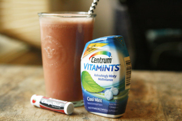 vitamints-and-a-yogurt-drink