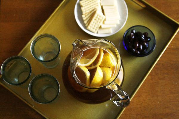 Honey Lemon Iced Tea is delicious anytime