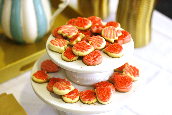 Cut-Out Strawberry Sugar Cookies recipe