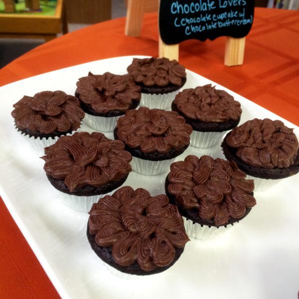 Chocolate Lovers Mini Cupcake recipe