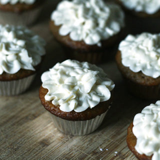 Carrot Mini Cupcakes with Dreamy Cream Cheese Frosting