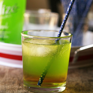 Spiked Double Apple Spritzer (Elphaba's Revenge)