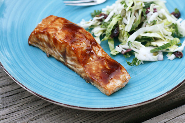 Easy Roasted Teriyaki Salmon