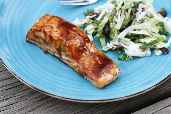Easy Roasted Teriyaki Salmon
