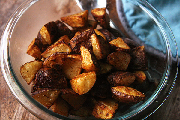 Rosemary Paprika Roasted Potatoes
