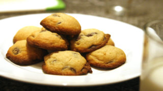 Salted Dark Chocolate Chip Cookies Recipe