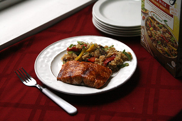Honey Hoisin Broiled Salmon