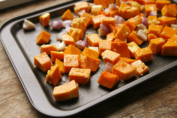 how to cook butternut squash cubes