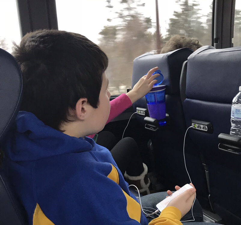 Traveling By Bus With Kids