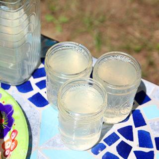 Small Batch Homemade Lemonade