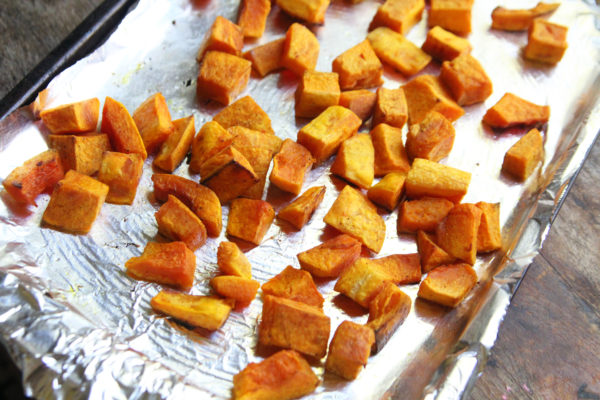 How to Roast Butternut Squash Cubed