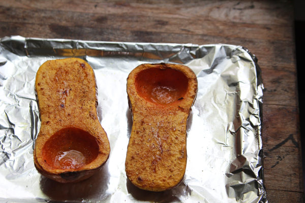 How to Roast Butternut Squash Halves