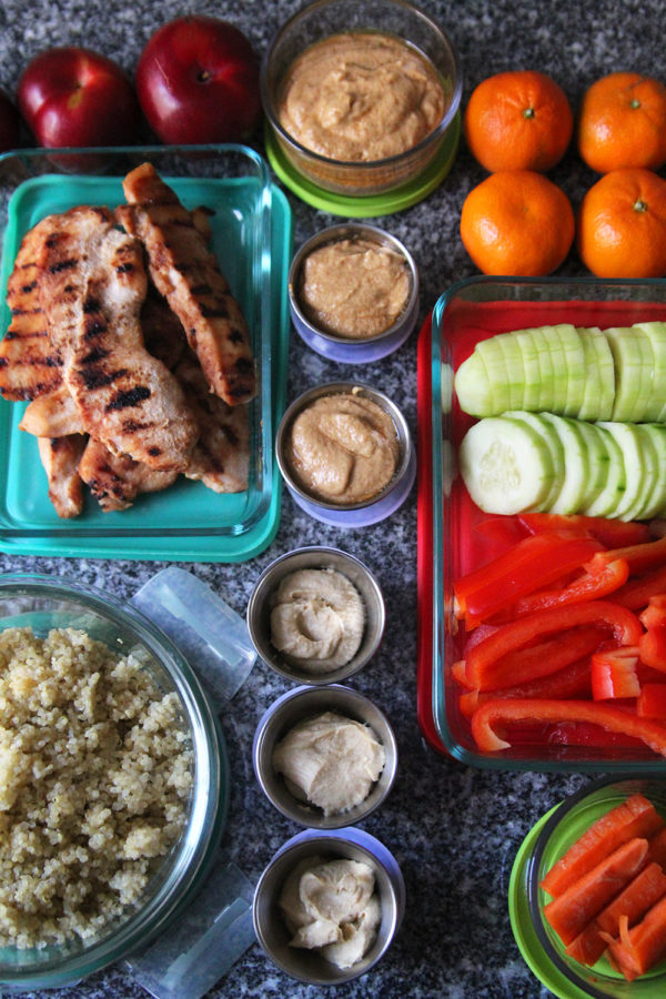 Lunch meal prep 101