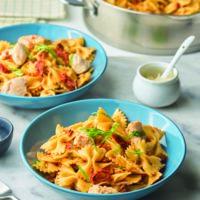 Sundried Tomato, Chicken and Garlic Pasta
