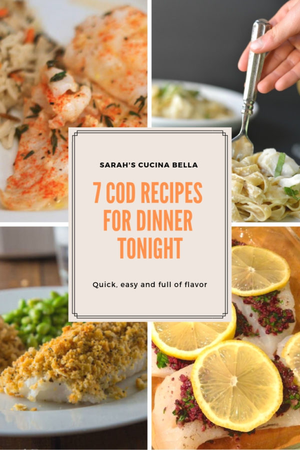 7 Flavorful Cod Recipes for Dinner Tonight