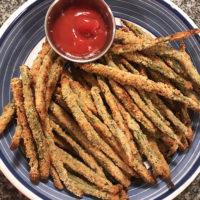 5-Ingredient Baked Green Bean Fries
