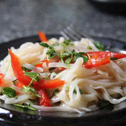 Seasoned Rice Noodle Salad