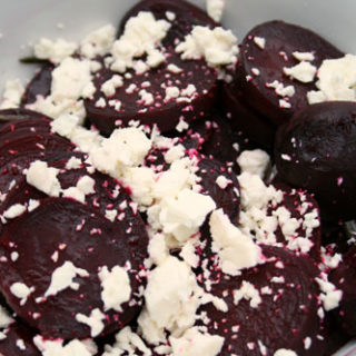 Grilled Beets with Feta